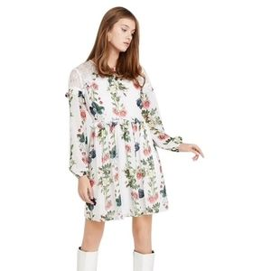 NWT Ted Baker London Maryam Oracle Floral Dres